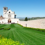 The Basilica of Saint Francis, in Assisi