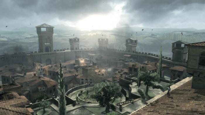 Monteriggioni Assassings Creed