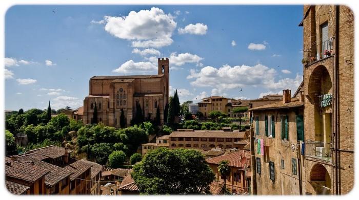 San Domenico church Siena