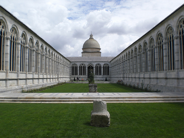 The monumental cemetery of Pisa