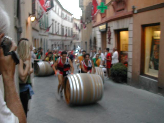 The Bravio festival in Montepulciano - Tuscany