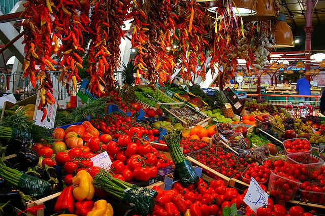 food market florence in San Lorenzo