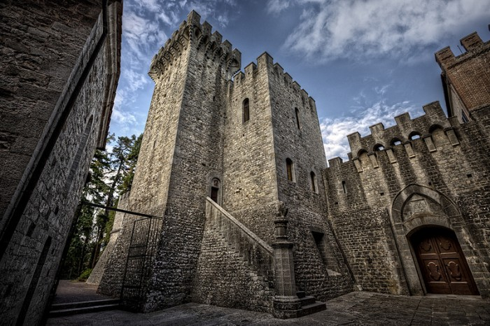 Chianti castle Brolio