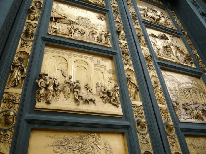 Doors of Paradise Florence Italy & Best doors of Tuscany: doors of Paradise in Florence and San ... Pezcame.Com