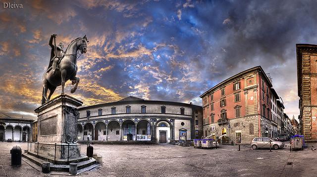 Santissima Annunziata square in Florence
