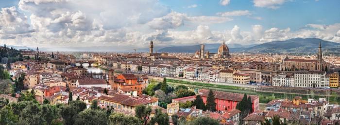Florence hills panorama