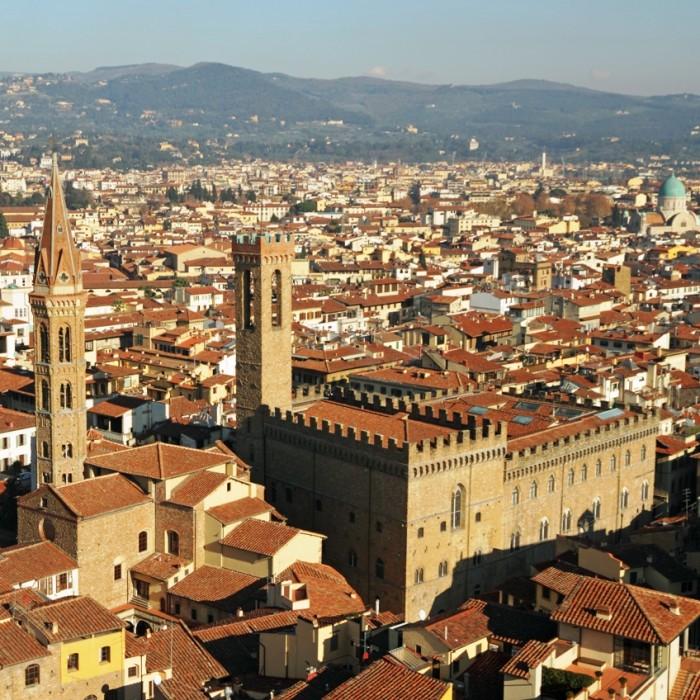 Bargello Panoramic View