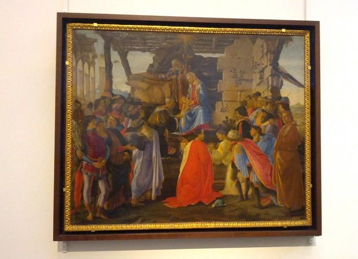 Adorazione dei Magi by Botticelli