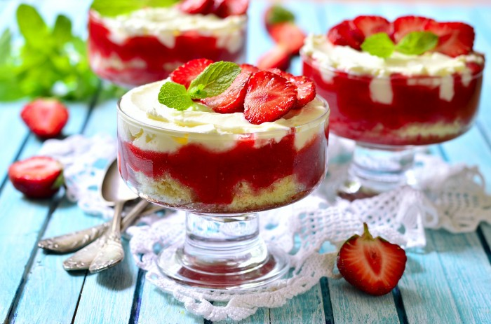 Strawberry Tiramisù