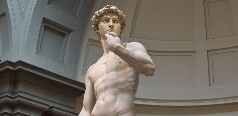 David by Michelangelo, Accademia Gallery in Florence