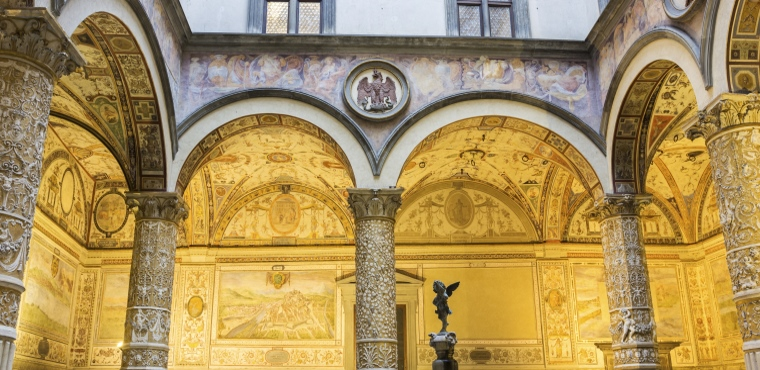 Palazzo Vecchio and its Battlements Guided Tour